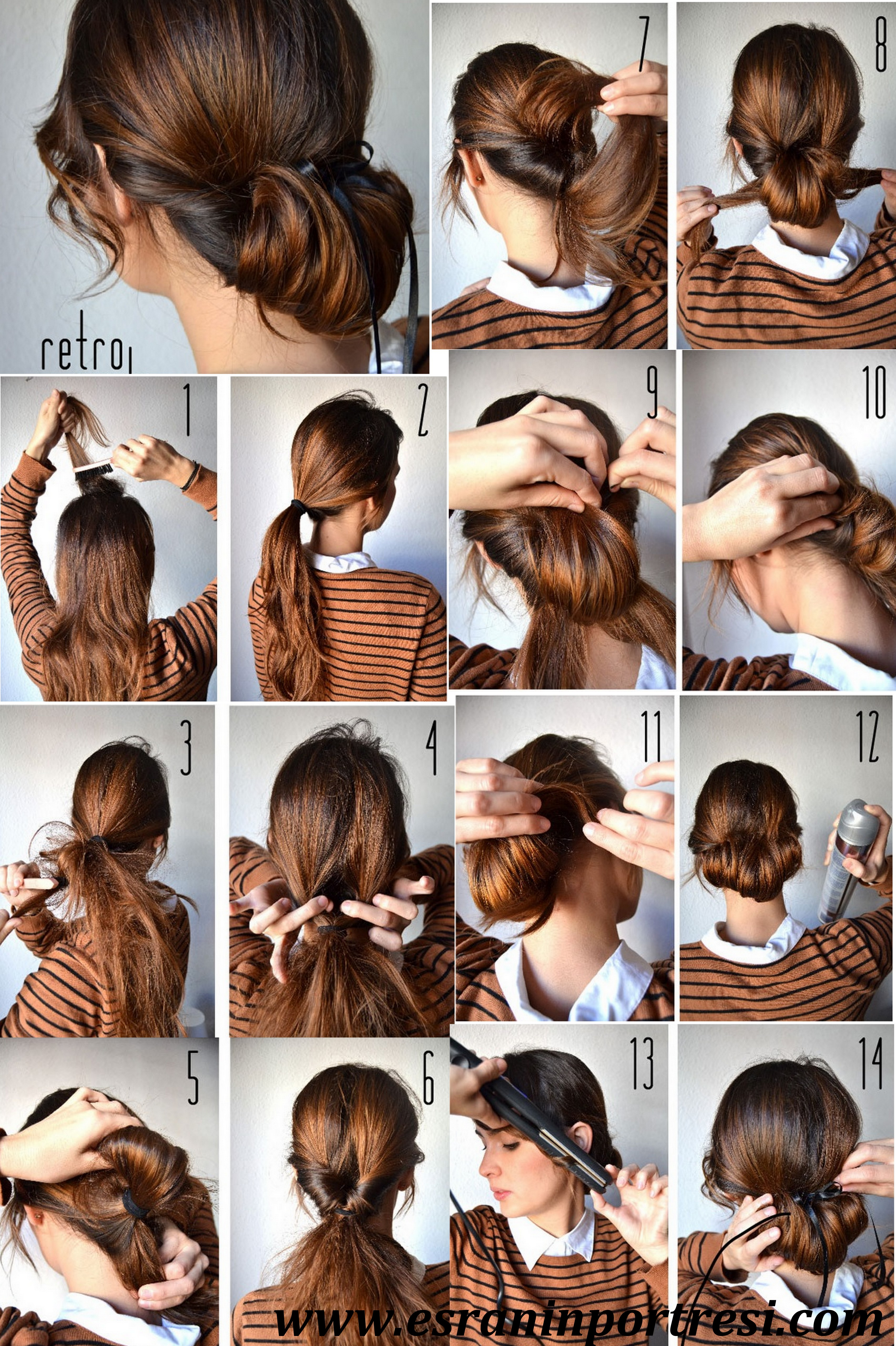 Uzun Saçlar İçin Saç Örgüsü Yapılışları