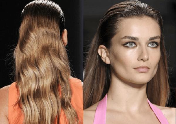Islak Saç Modeli