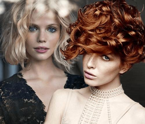 Kısa saçlar için şık saç modelleri