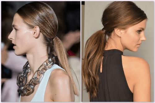 2015 saç trendleri ensede at kuyruğu