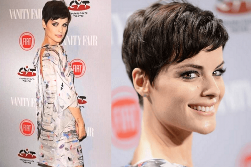 Jaimie Alexander pixie kısa saç modeli