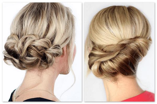 yılbaşı için saç modelleri