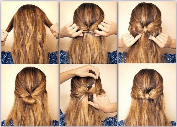 yarım toplu saç modelleri 2015 saç trendi
