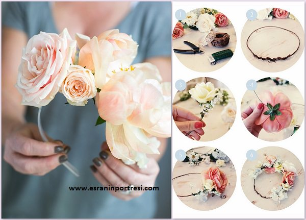 çiçek taç yapımı_mini
