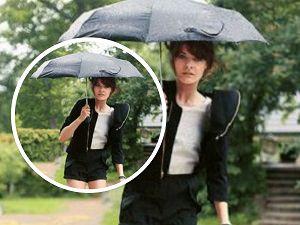 8 yağmurlu günler için saç_mini