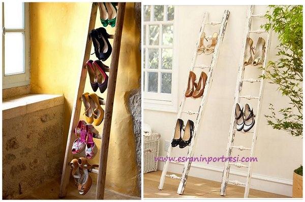 ayakkabı düzenlemede merdivenli fikirler_mini