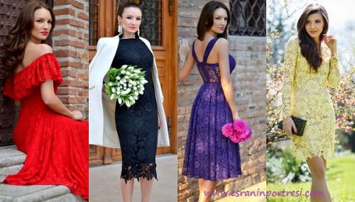 df8b107a5b792 dantel elbise modelleri nişanlık düğün için elbise modelleri_mini