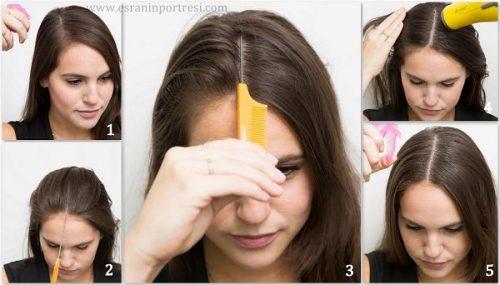 Kare yüz için herhangi bir saç kesimi