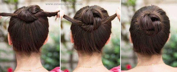ıslak saçlar için saç modeli_mini