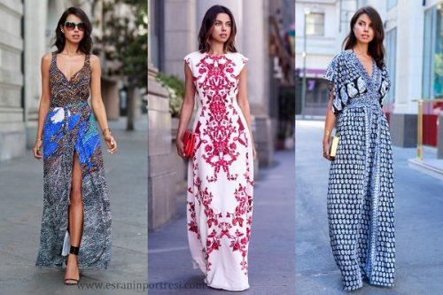 desenli maksi elbiseler desenli uzun elbise modelleri_mini