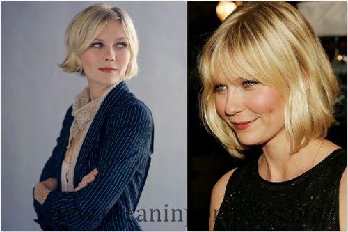 Orta uzunluktaki ince saçlar için saç stillerini seçin