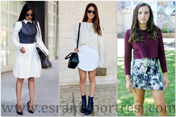 Sonbaharda nasıl kıyafet yapılır Sonbahar için moda kıyafetler