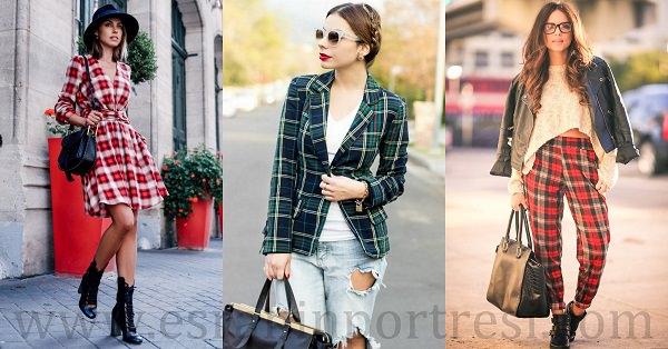 2 ekose desenli kıyafet modası_mini