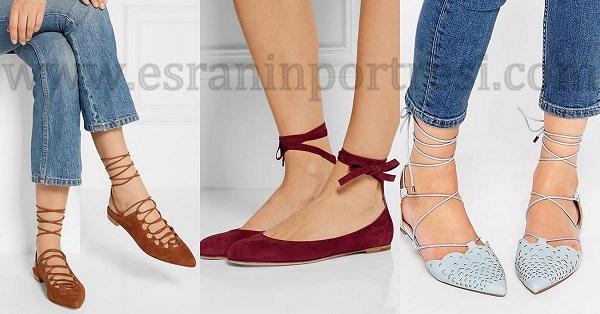 2016 yaz düz ayakkabı modelleri bilekten bağcıklı babet_mini