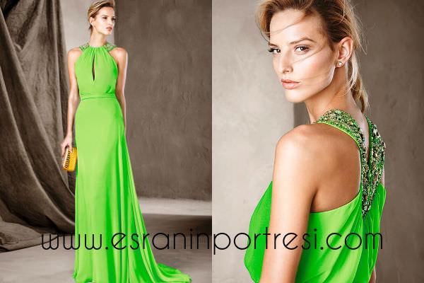 pronovias 2017 yeşil abiye elbise modelleri_mini