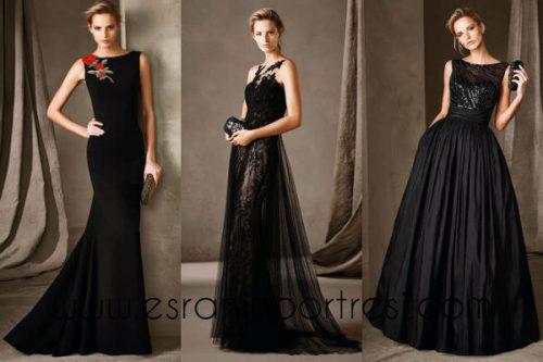 siyah uzun abiye elbise_mini