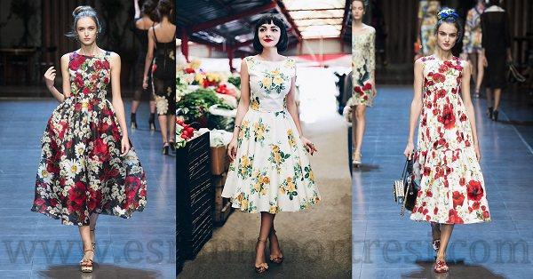 1 ilkbahar icin en moda elbise modelleri cicekli elbise modelleri_mini