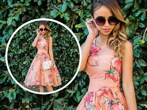 ilkbahar icin en moda elbise modelleri cicekli elbise modelleri on_mini