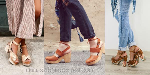 2 platform topuklu ayakkabi clogs takunya_mini