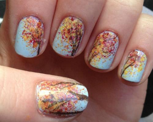 5 sonbahardan ilham alan tirnaklar sonbahar oje renkleri_mini