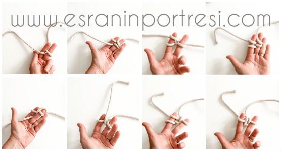 1 parmak örgüsü ile tencere altlığı yapımı nihale yapımı_mini