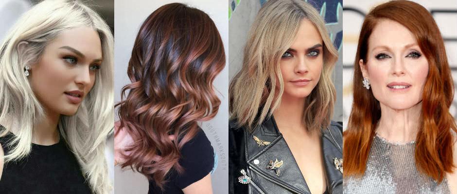 2017 Saç Rengi Trendleri
