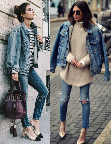 3 kot ceket ile stil onerileri denim ceket jean ceket kadin_mini