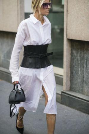 5 beyaz gomlek elbise ile stil onerileri_mini