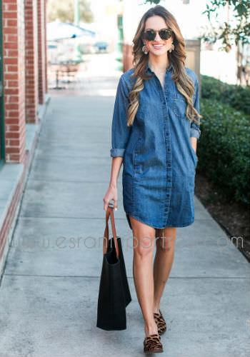 1 kot elbiseler ile stil onerileri_mini
