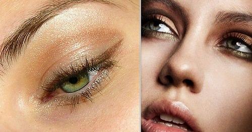 ela gözler için metalik altın eyeliner_mini