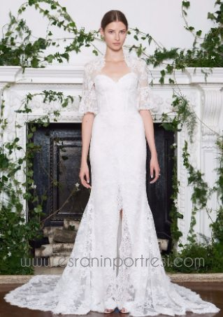 Monique Lhuillier Sonbahar 2019 Gelinlik Modelleri Koleksiyonu 13