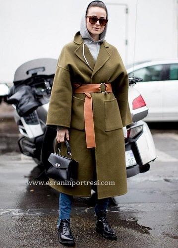 Aksesuar modası: Uzun kemerler