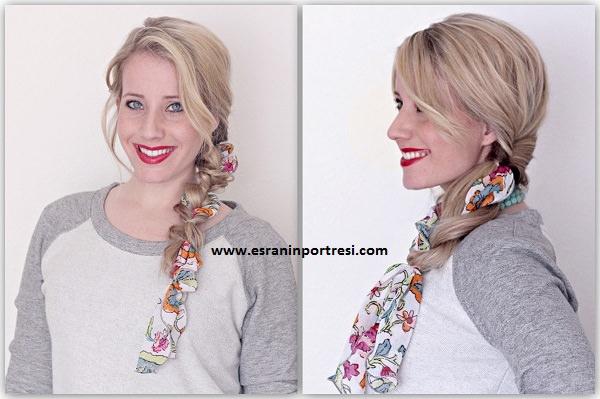 2016 saç modası örgü içine fular fular trendi fular nasıl bağlanır_mini