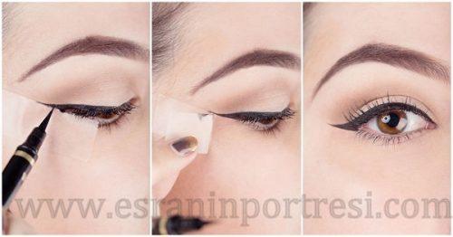 2 bant ile eyeliner_mini