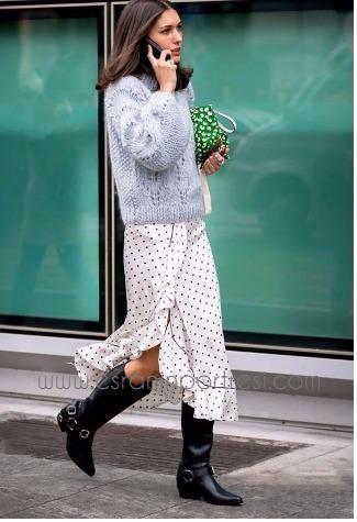 Yeni Moda Triko ve Kazaklarile Stil Önerileri 63